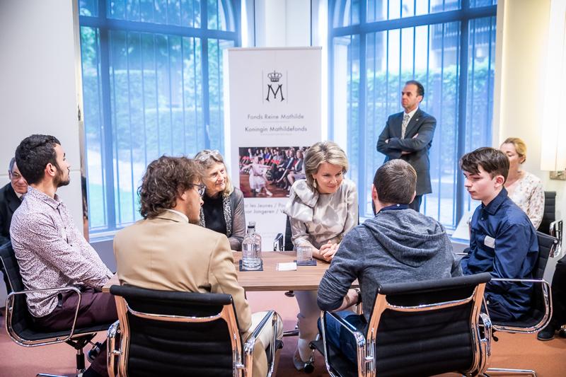 www.franktoussaint.be, Koningin Mathilde Fonds, Prijsuitreiking van het KMF op het Koninklijk Paleis